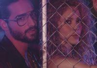 """Shakirasigue cosechando éxitos con su nuevo sencillo """"Clandestino""""junto a Maluma."""