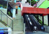 Las escaleras eléctricas que transformaron la vida